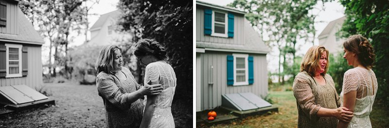 hamptons backyard wedding fall