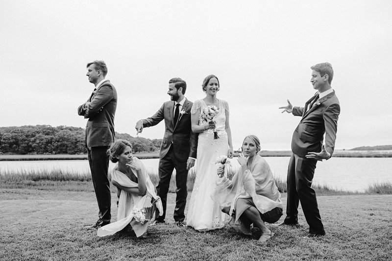 stylish bridal party hamptons 3