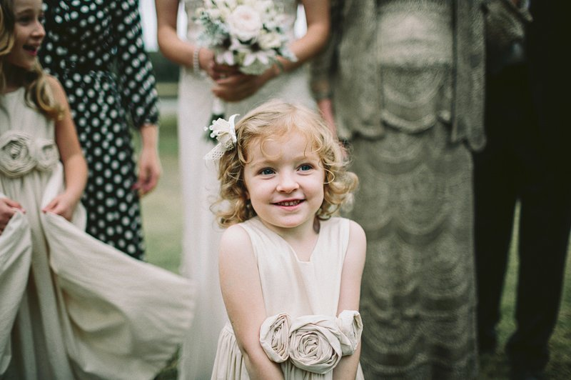rustic chic flower girl dress ideas