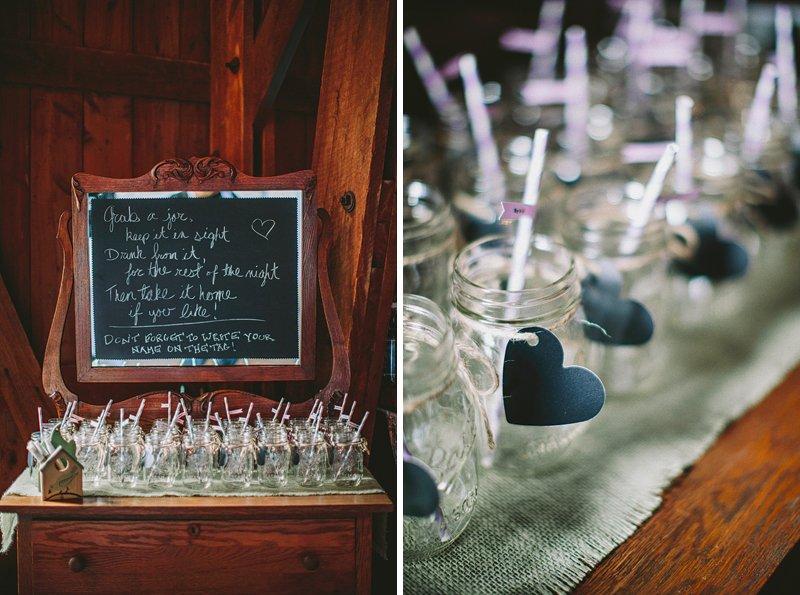 mason jars for wedding hudson valley
