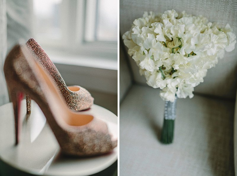louboutin shoes bride
