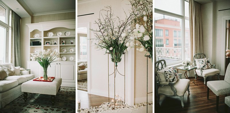 manhattan apartment wedding