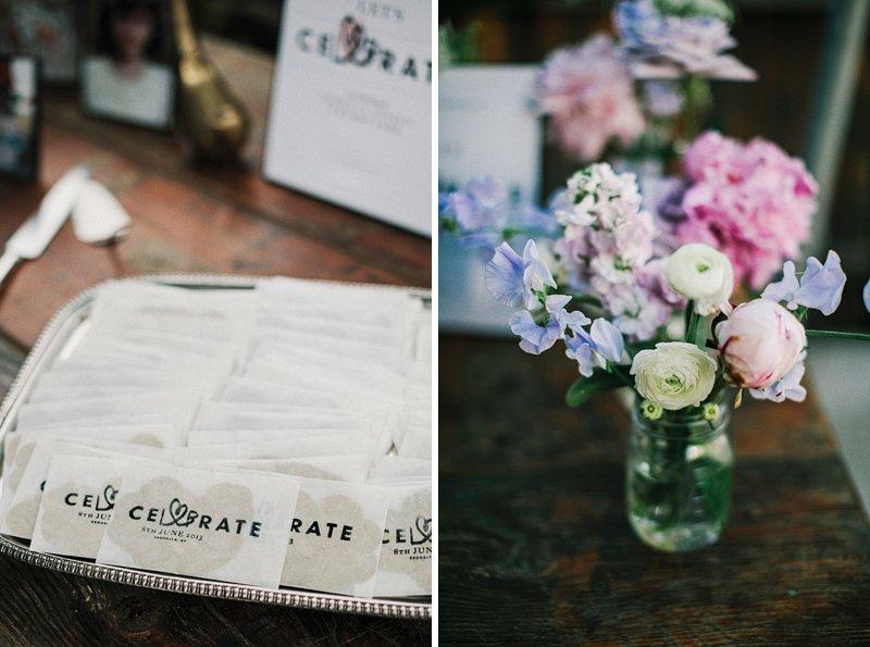 table setting brooklyn wedding