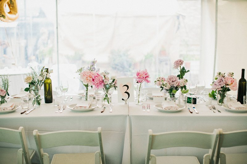 table setting brooklyn wedding