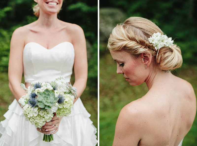 rustic chic bride hair 2