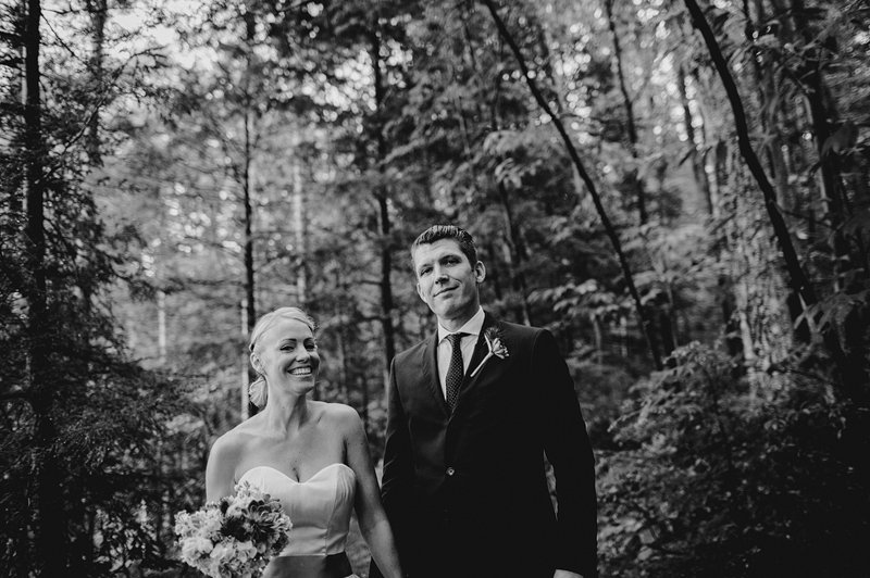 woodsy wedding in catskills