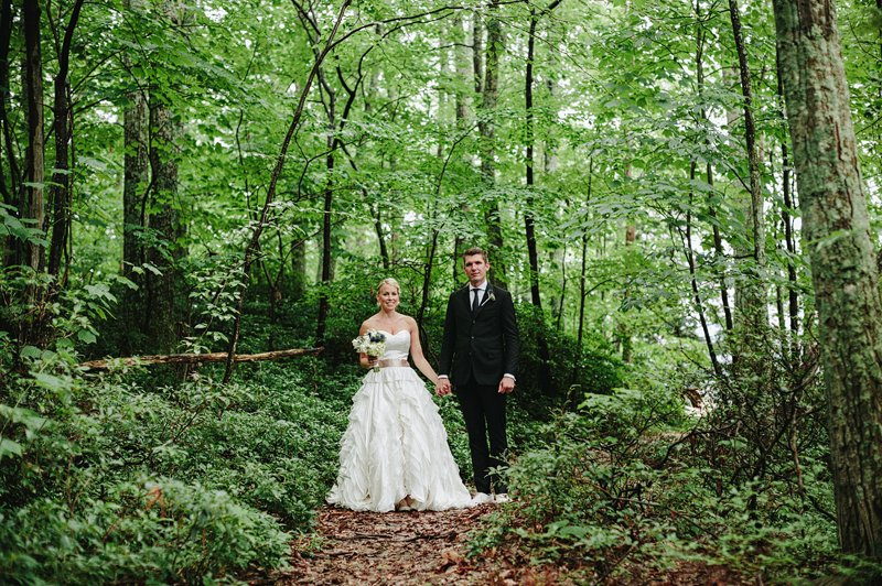 woodsy wedding in hudson valley 2