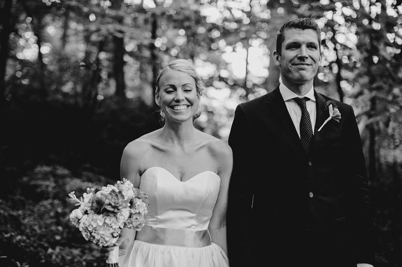woodsy wedding in hudson valley 4