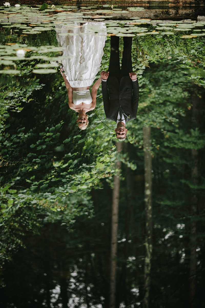 creative wedding photography catskills