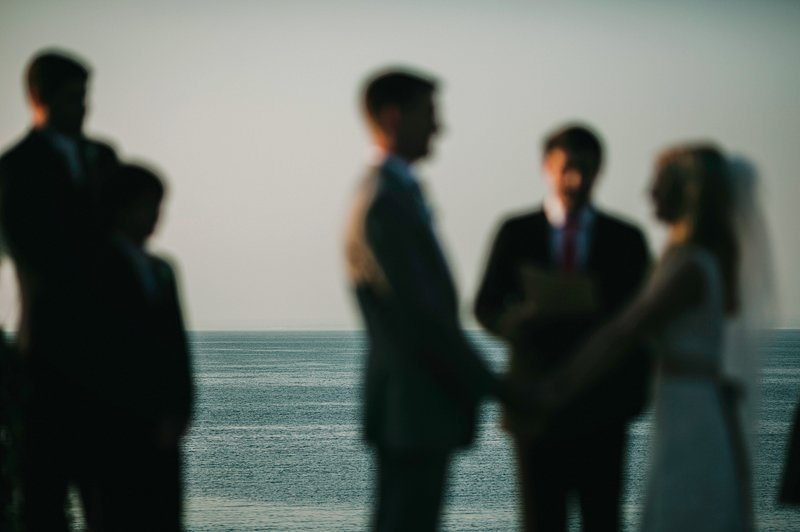long island sound wedding ceremony