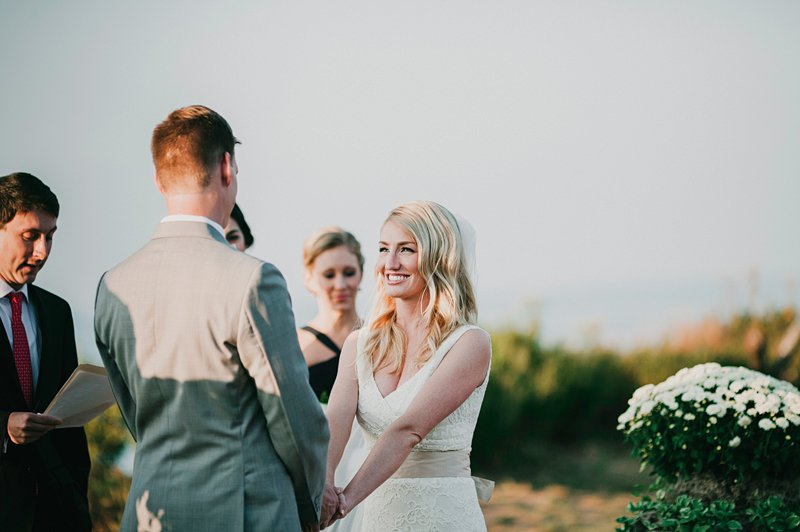 long island sound wedding ceremony 2