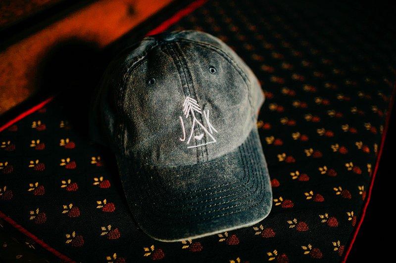 custom hat logo wedding hipster