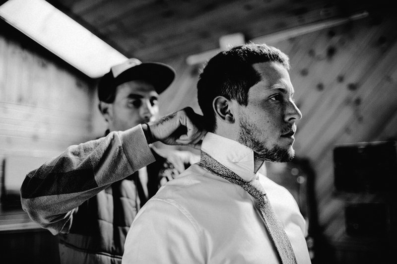 groom getting ready kaaterskill