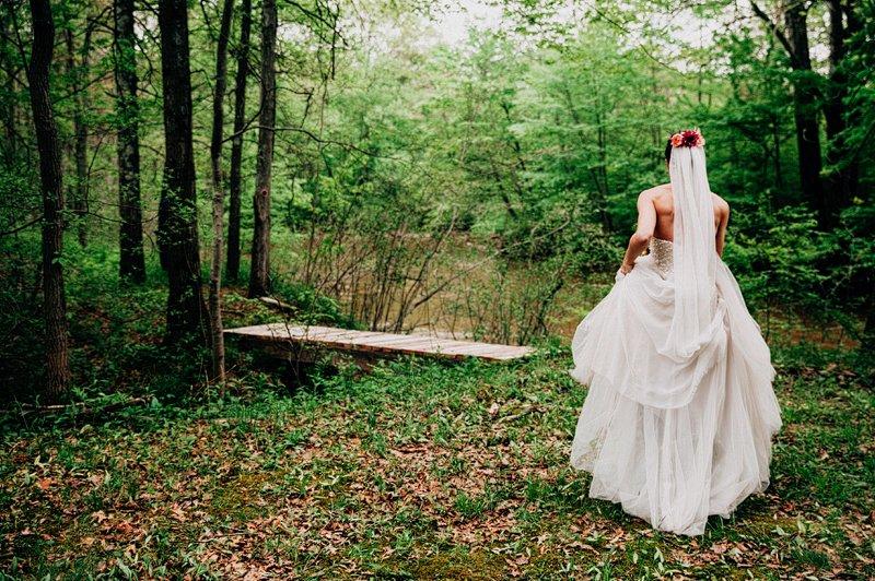 first look wedding catskills farm