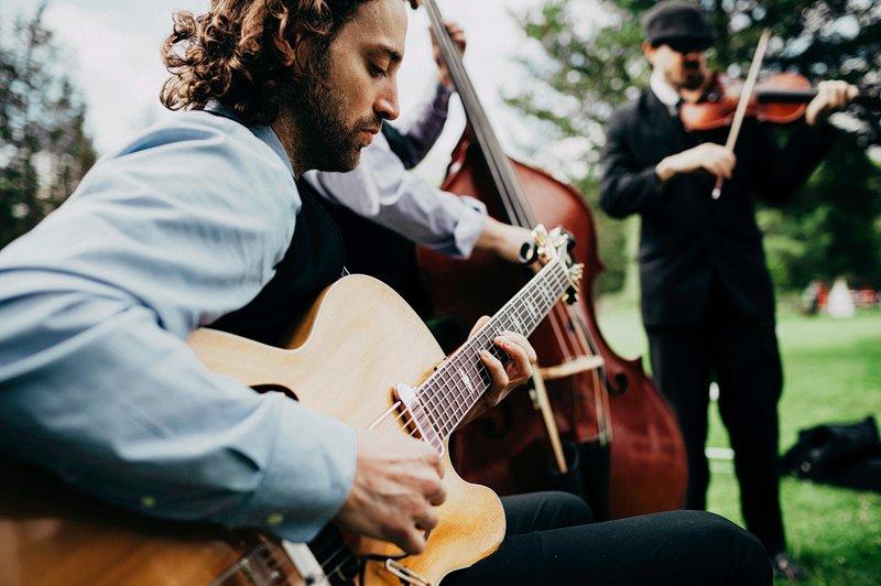 kings county swing wedding band