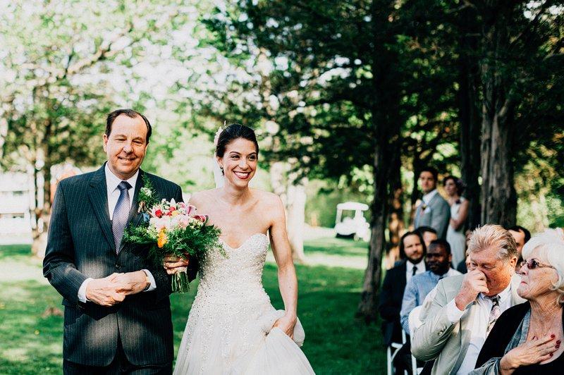 catskills farm wedding ceremony 3