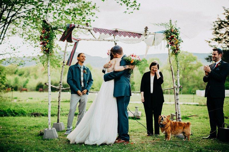 humanist wedding ceremony hudson valley 1