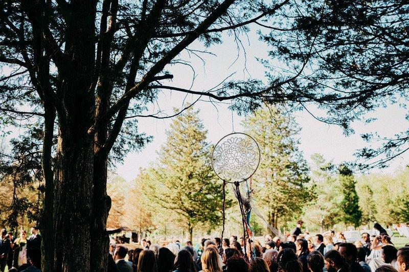 hipster wedding ceremony hudson valley farm