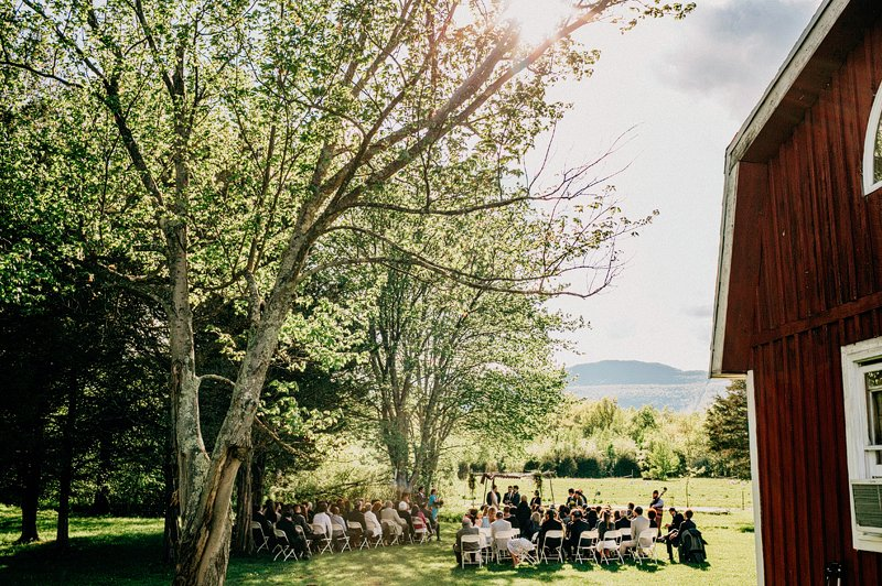 catskills farm wedding ceremony 4
