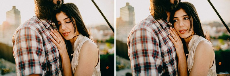 Summer engagement session in Brooklyn