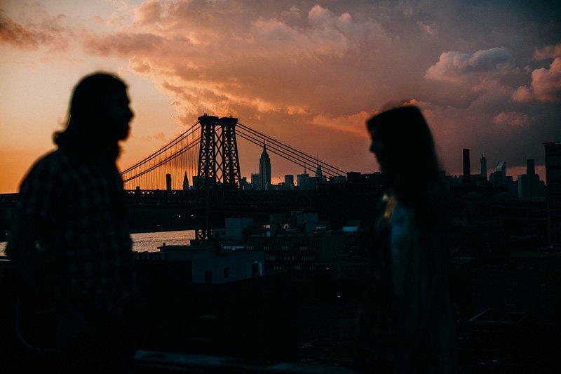 Manhattan Bridge engagement session