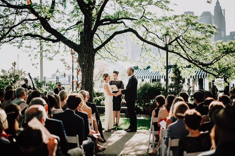 bohemian wedding in brooklyn