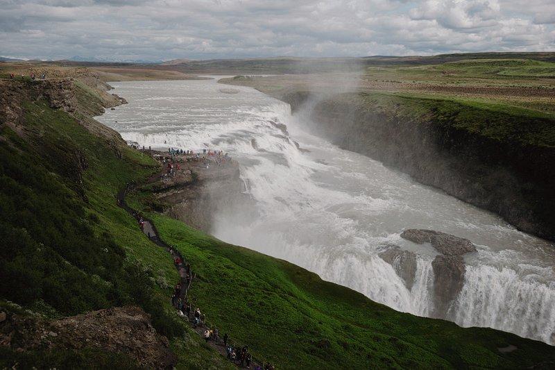 selfoss iceland waterfall