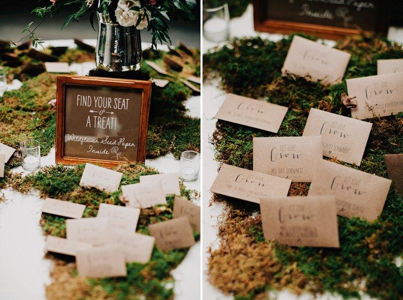 creative escort card table ideas