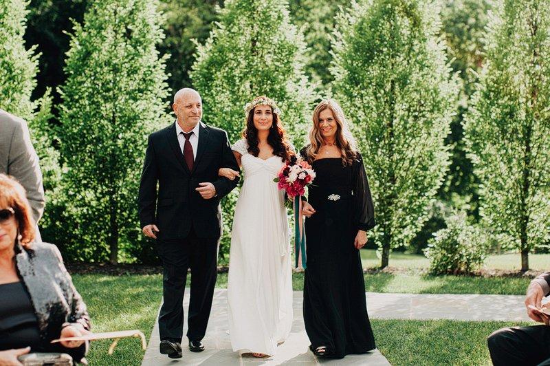 the roundhouse beacon wedding ceremony