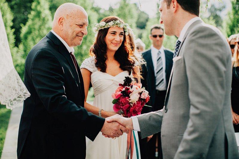 the roundhouse beacon wedding ceremony 2
