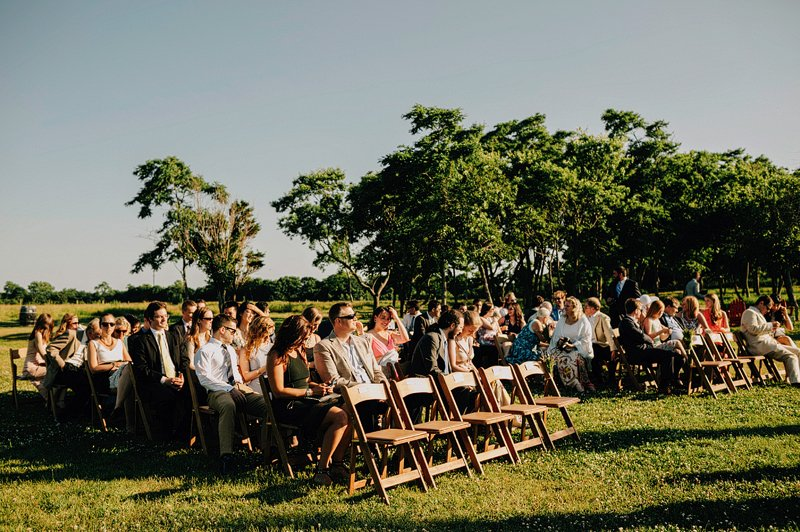 kontokosta winery wedding ceremony summer 2