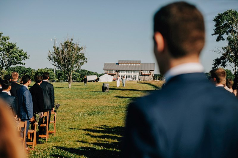 kontokosta winery wedding ceremony summer 5