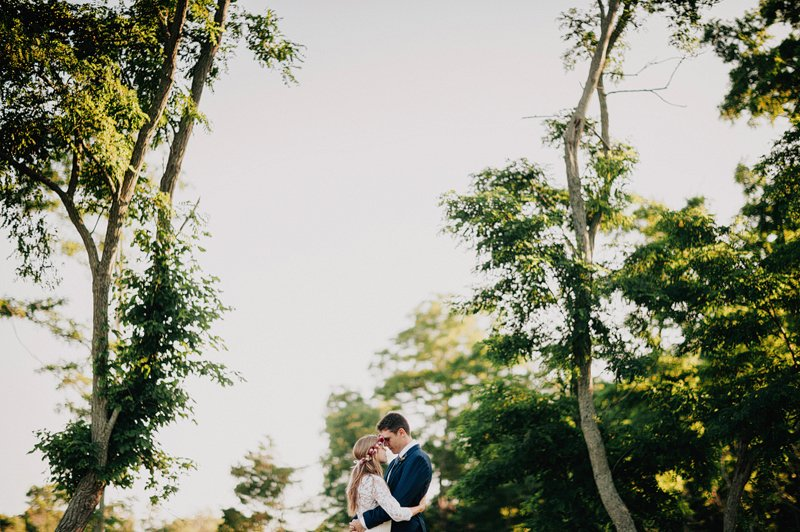 kontokosta winery sunset wedding 2