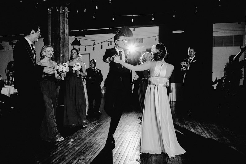 first dance brooklyn wedding