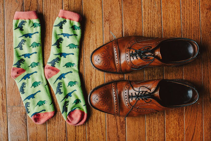 groom hipster socks