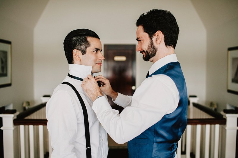 gay wedding seatuck cove house
