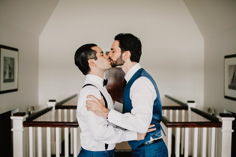 gay wedding seatuck cove house 2