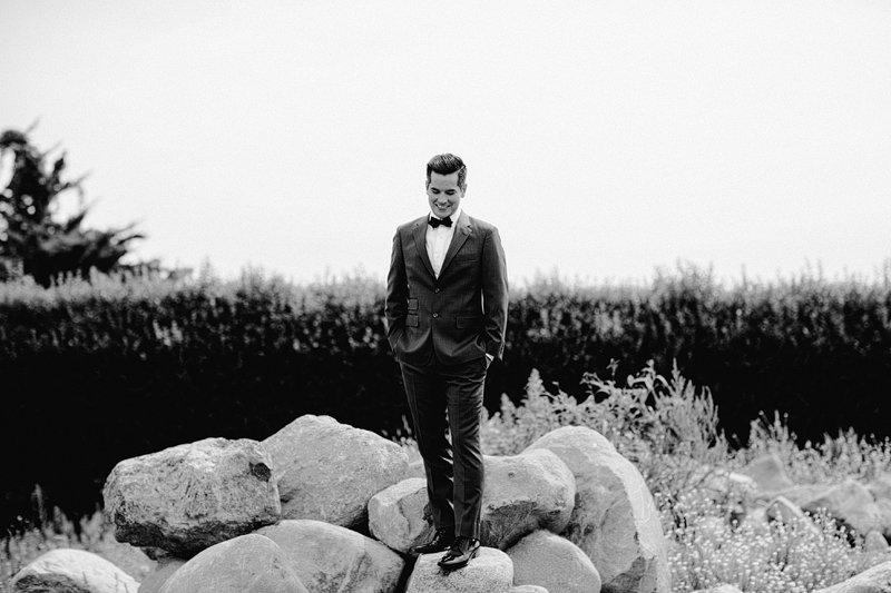 stylish groom long island