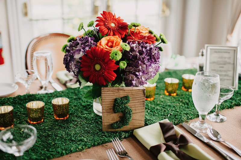 creative table setting wedding