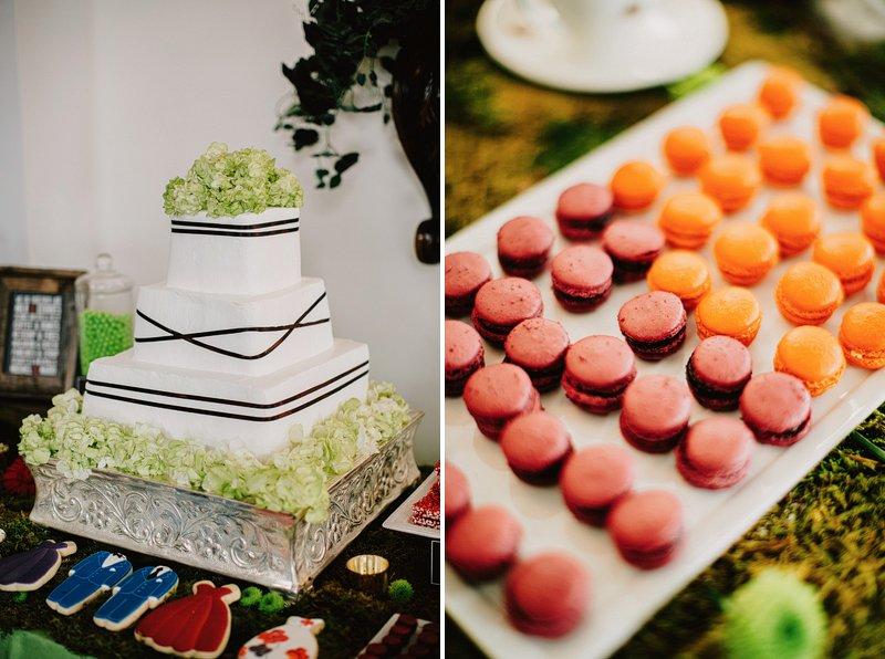 creative table setting wedding  2