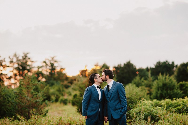 gay wedding photographer long island sunset 3