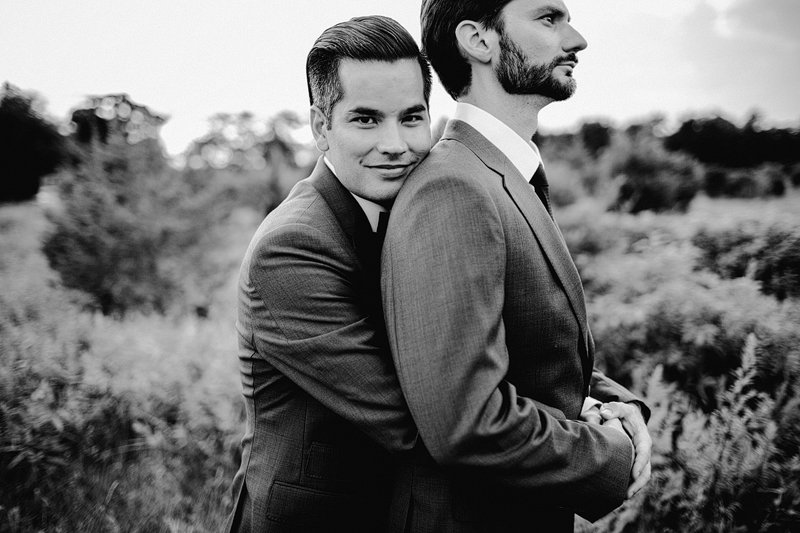 gay wedding photographer long island sunset 2