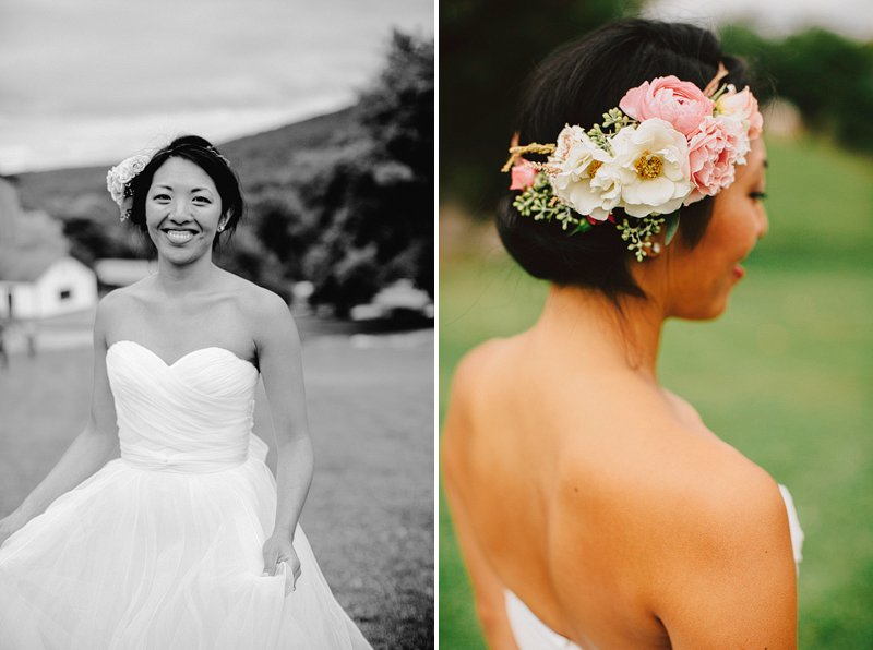 flower hairpiece bride ideas