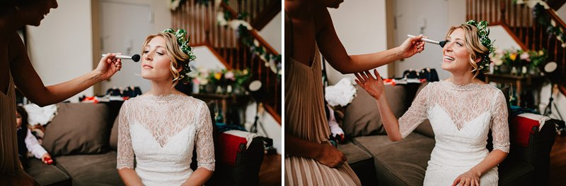bride getting ready greenpoint brooklyn 2
