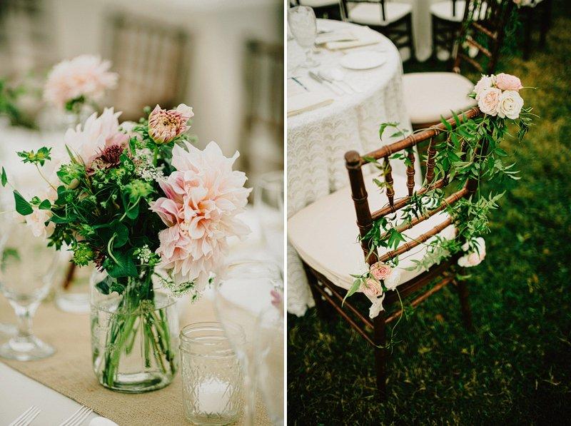 rustic wedding table setting ideas