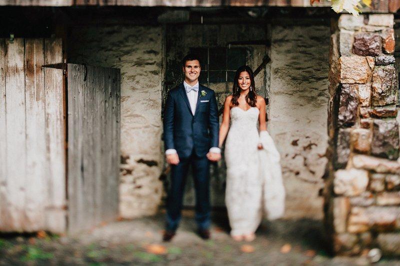 rustic farm wedding bucks county pa