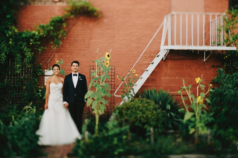 gowanus brooklyn wedding portraits