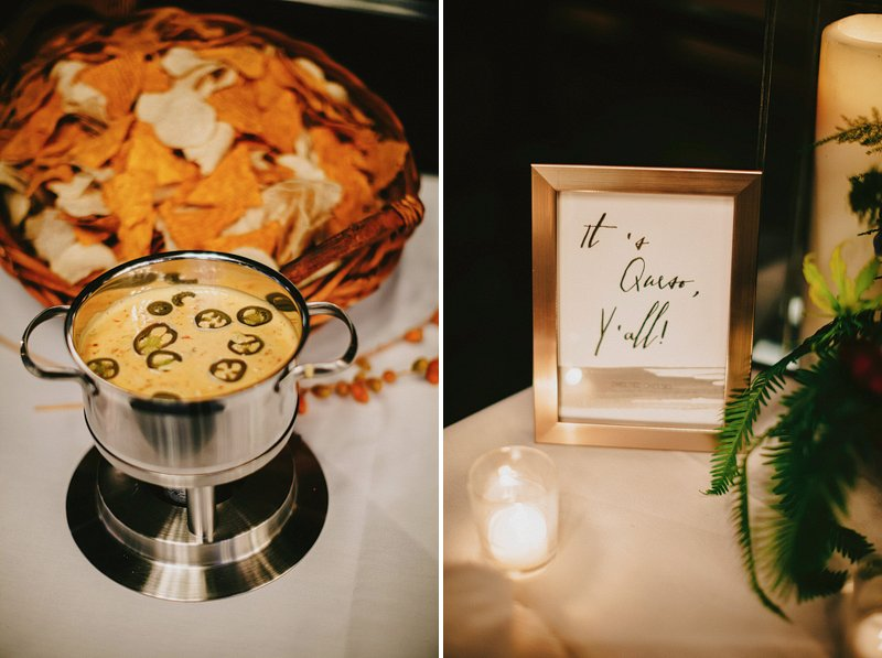 queso wedding texas theme