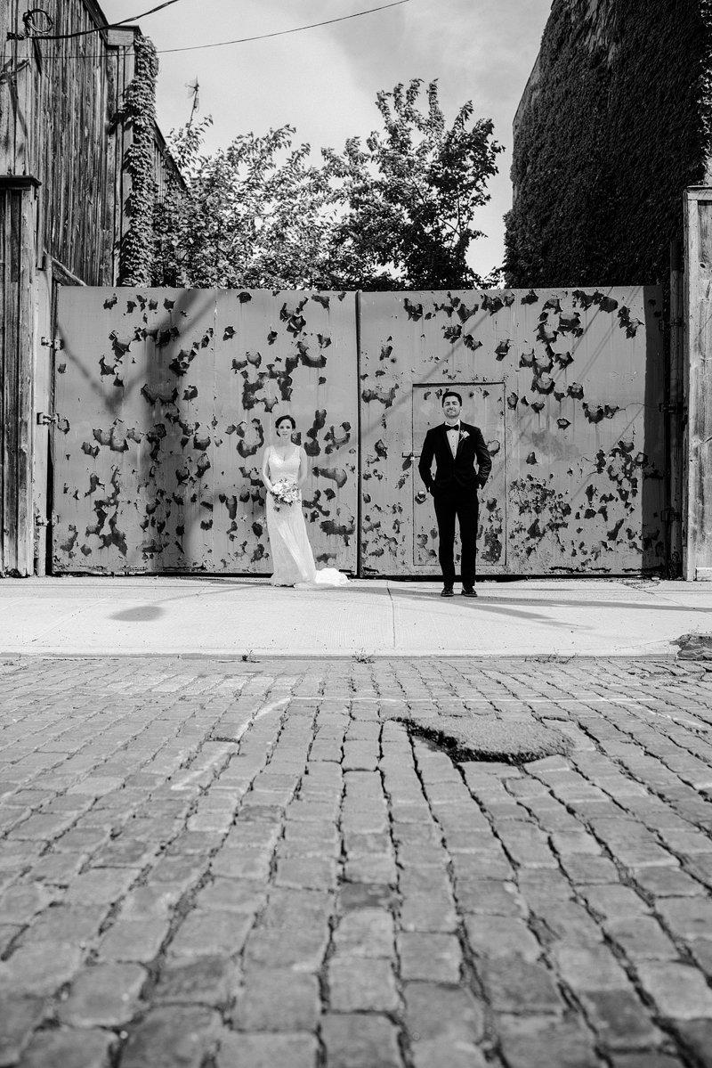 wedding at liberty warehouse red hook brooklyn