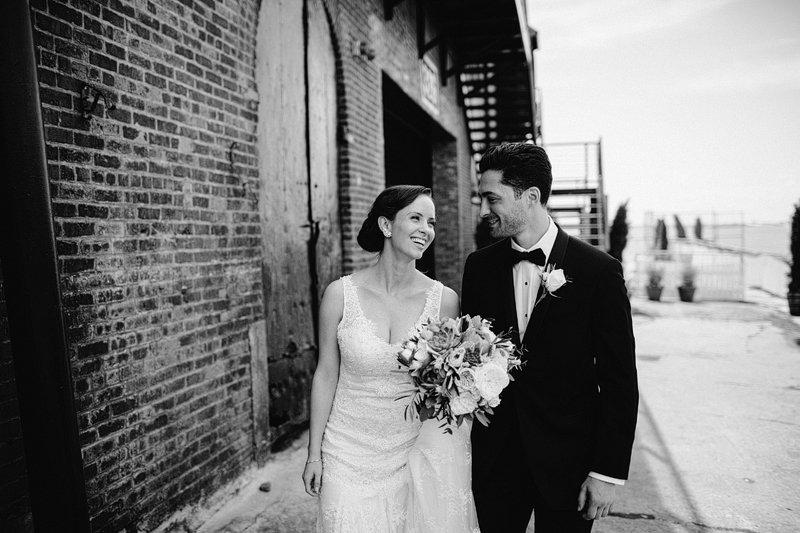 Summer Wedding Brooklyn Liberty Warehouse